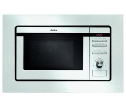 AMICA AMM20G1BI Built-in Microwave with Grill - Stainless Steel