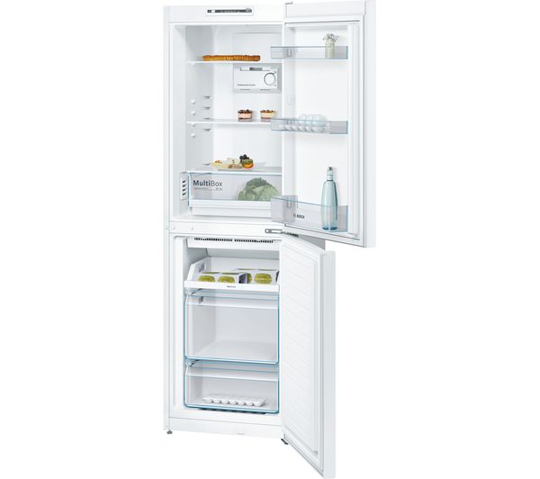 Buy Bosch Kgn34nw3ag 50 50 Fridge Freezer White Free