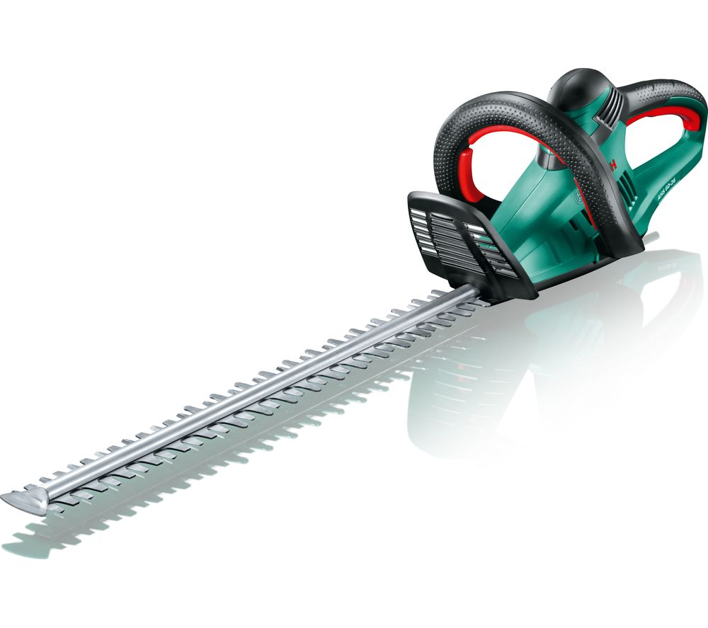 Image of BOSCH AHS 60-26 Electric Hedge Trimmer - Green & Black, Green