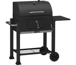 LANDMANN Grill Chef Tennessee Broiler Drum Charcoal BBQ - Black