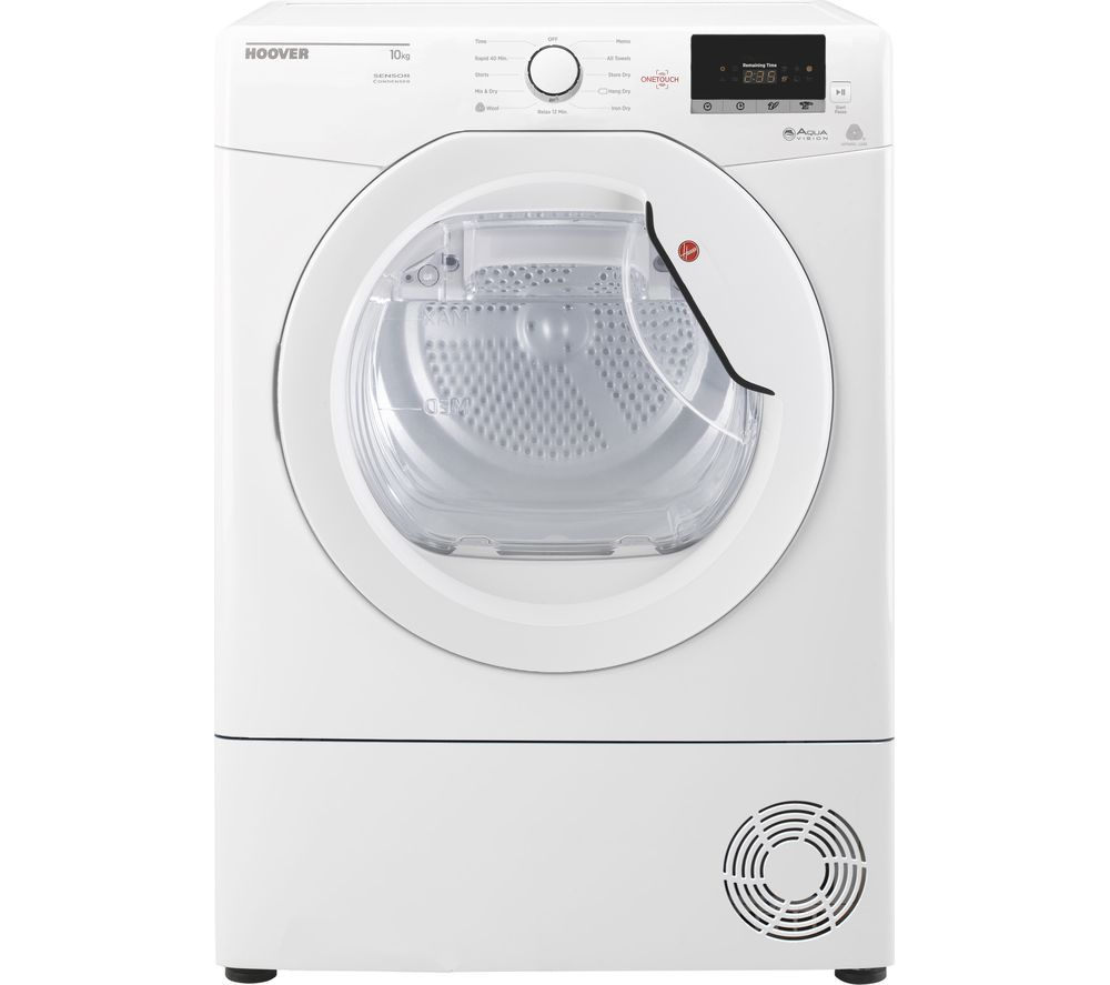 Compare prices for Hoover Dynamic Next DX C10DE Smart 10 kg Condenser Tumble Dryer