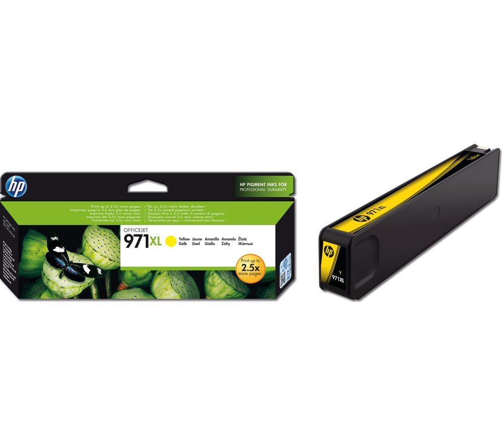 HP 971XL High Yield Original Yellow Ink Cartridge