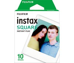 Instax Square Camera Film - 10 pack