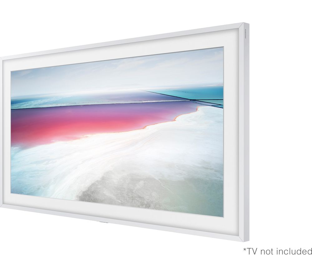 "SAMSUNG 55"" Customisable Frame Bezel - White"