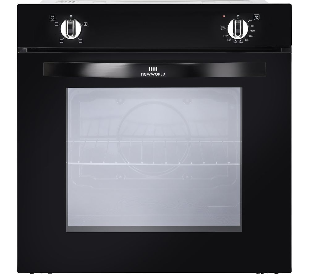NEW WORLD NW602V BLK Electric Oven - Black