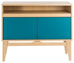 TEKNIK Contemporary 5416966 Work Centre - Beech & Blue