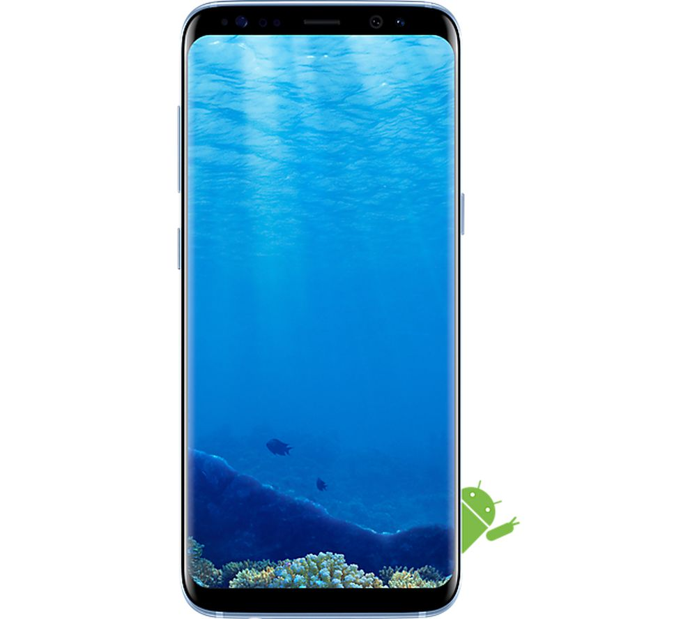 SAMSUNG Galaxy S8 - 64 GB, Coral Blue