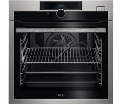 AEG SenseCook BSE874320M Electric Oven - Stainless Steel