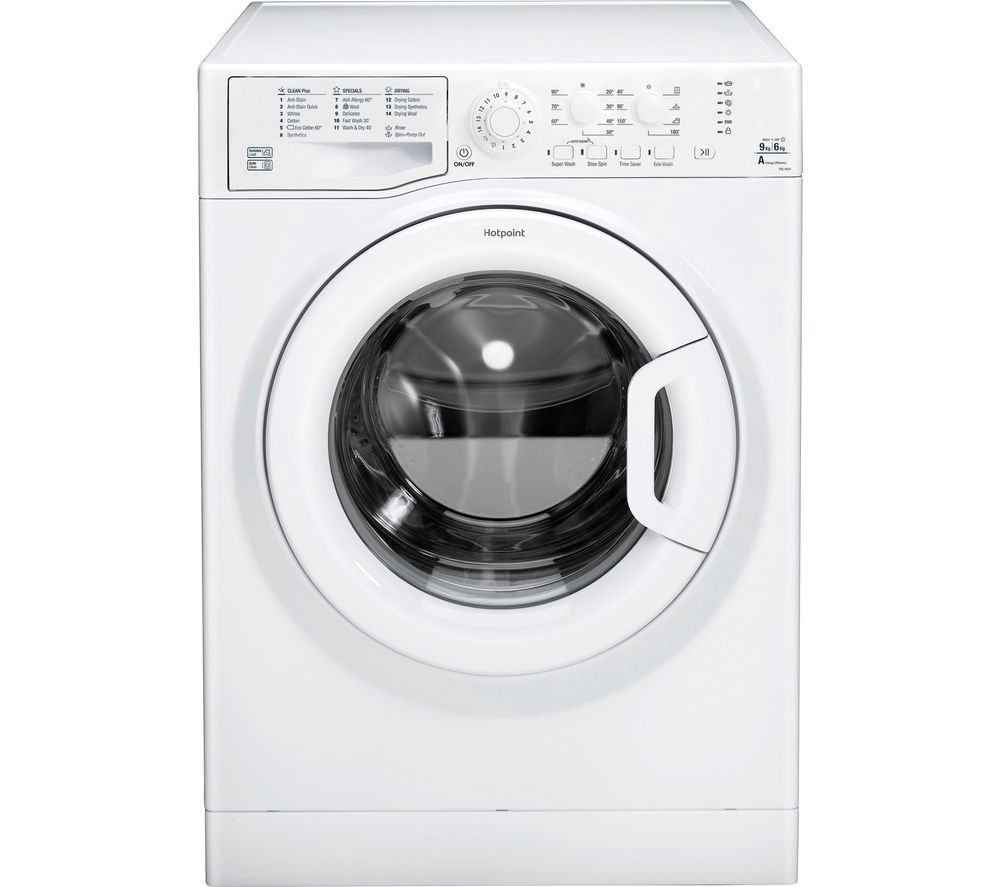 HOTPOINT Futura FDL 9640 P 9 kg Washer Dryer - White