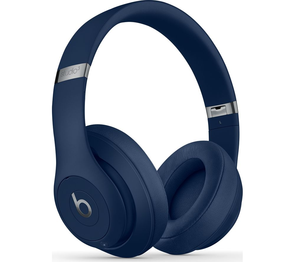 BEATS Studio 3 Wireless Bluetooth Noise-Cancelling Headphones - Blue