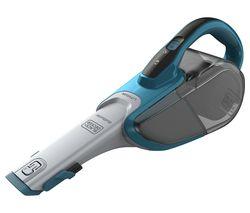 BLACK & DECKER Dustbuster DVJ320J-GB Handheld Bagless Vacuum Cleaner - Blue & Grey