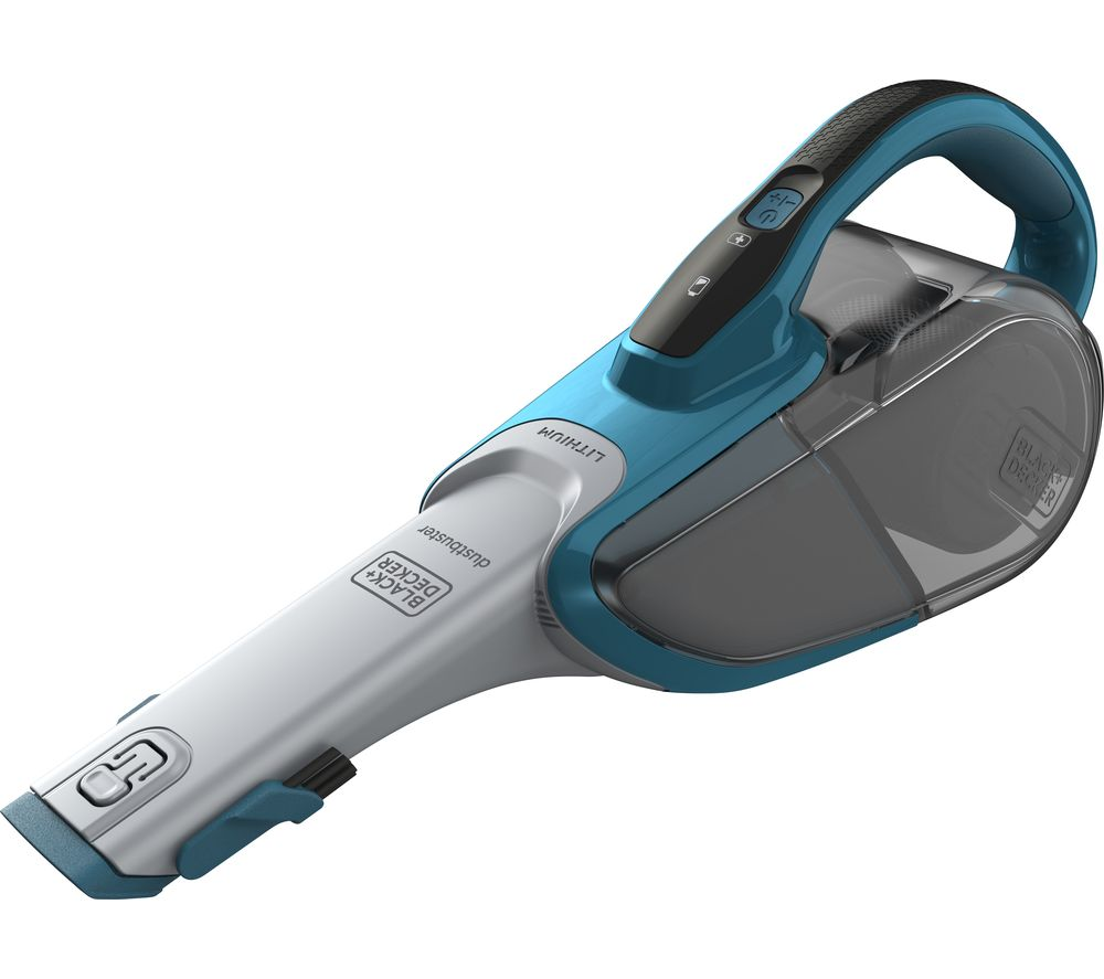 Black & Decker BLACK & DECKER Dustbuster DVJ320J-GB Handheld Bagless Vacuum Cleaner - Blue & Grey, B