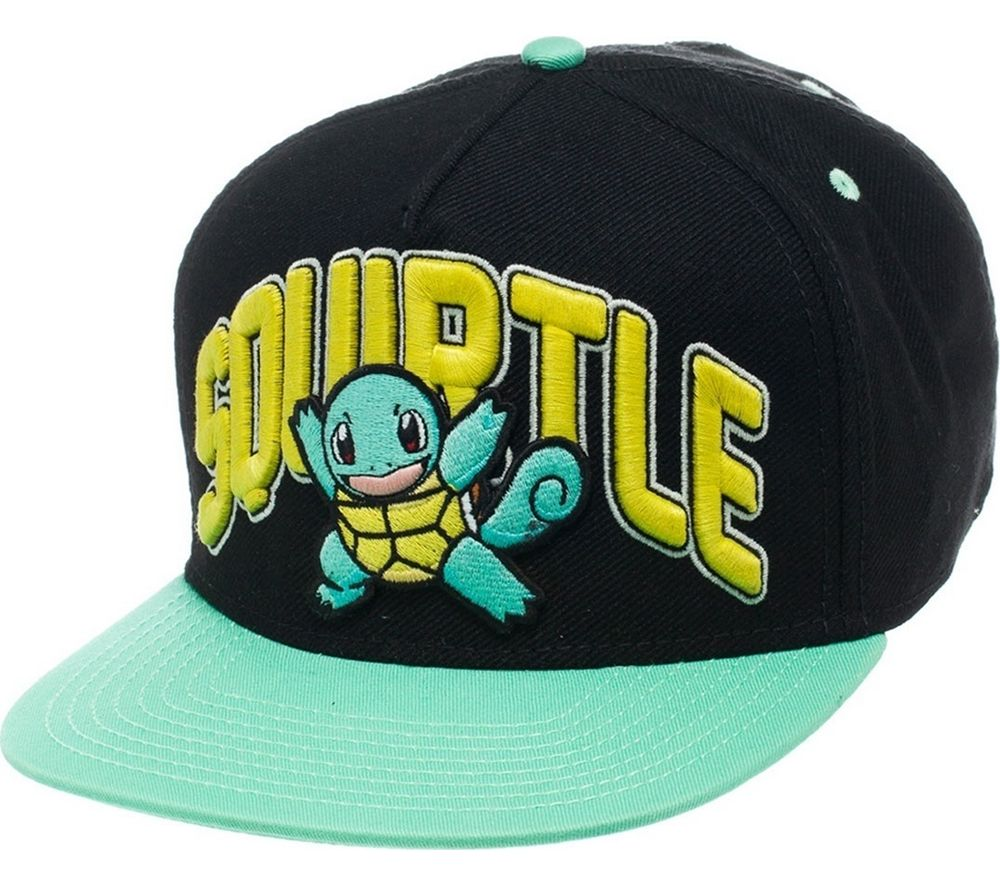 Compare prices for Pokemon Squirtle Snapback Cap