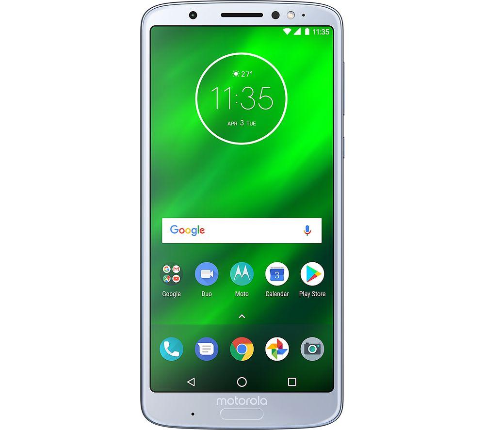 MOTOROLA G6 Plus - 64 GB, Silver