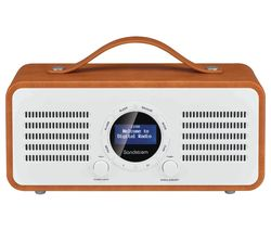 SANDSTROM SL-DBTB18 Portable DAB+/FM Bluetooth Radio - Brown