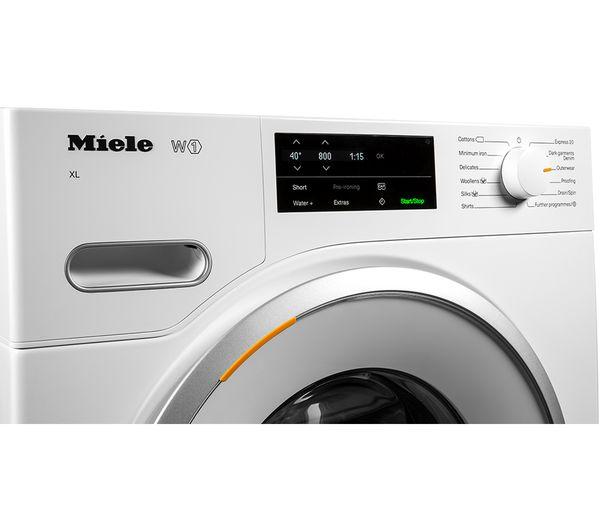 MIELE W1 WWG120 XL 9 kg 1600 Spin Washing Machine - White
