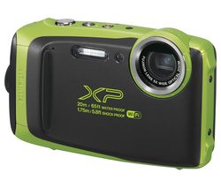 FUJIFILM XP130 Tough Compact Camera - Lime