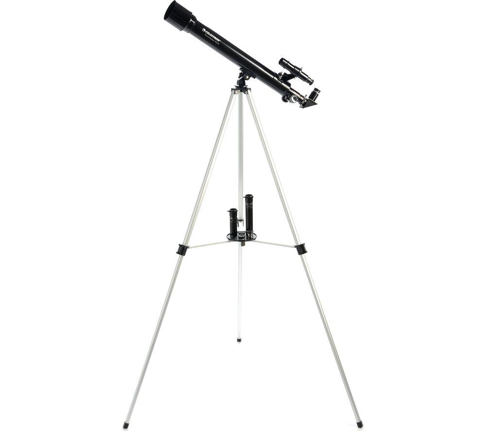 CELESTRON Powerseeker 50 Refractor Telescope - Black