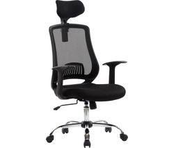 ALPHASON Florida AOC4125BLK Mesh Tilting Executive Chair - Black