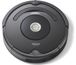 IROBOT Roomba 676 Robot Vacuum Cleaner - Black & Charcoal