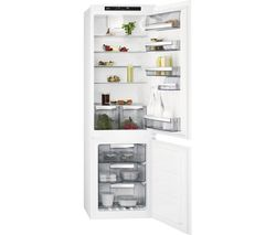 AEG SCE8181VTS Integrated 70/30 Fridge Freezer - White