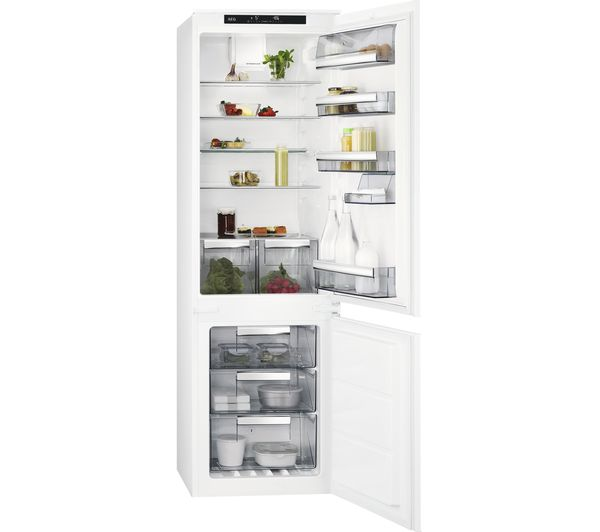Image of AEG SCE8181VTS Integrated 70/30 Fridge Freezer - White
