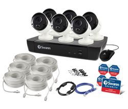 SWANN SWNVK-885806 8-Channel 4K Ultra HD Security System - 2 TB, 6 Cameras