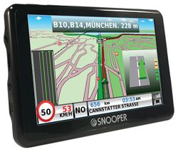 "SNOOPER Truckmate SC5900 HGV 5"" Sat Nav with Dash Cam & Case - Full Europe Maps"