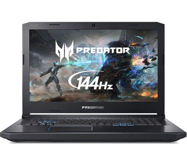 "Image of ACER Predator Helios 500 17.3"" Intel® Core™ i9 GTX 1070 Gaming Laptop - 1 TB HDD & 256 GB SSD"