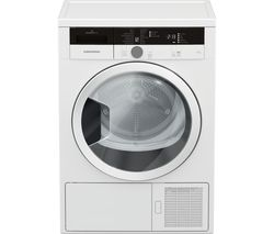 GRUNDIG GTN28240GW 8 kg Heat Pump Tumble Dryer - White