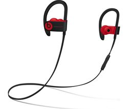 BEATS Decade Collection Powerbeats3 Wireless Bluetooth Headphones - Red & Black