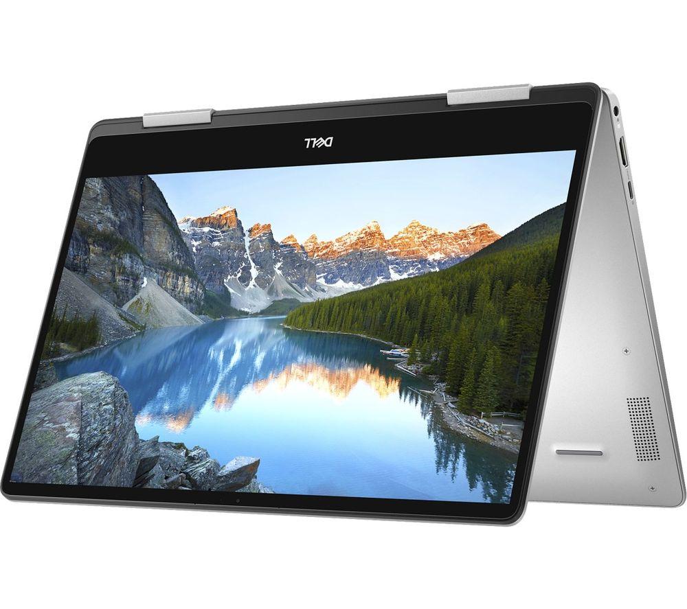 """DELL Inspiron 13 7000 13.3"""" Intel® Core™ i7 2 in 1 - 256 GB SSD, Silver"""