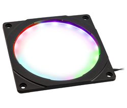 Halos RGB LED Fan Frame - 120 mm, Black