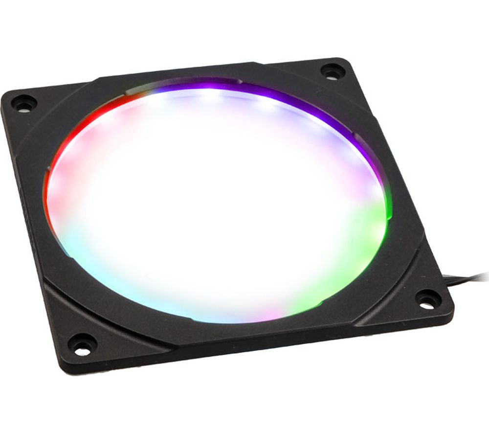 PHANTEKS Halos RGB LED Fan Frame - 120 mm, Black