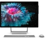 £4249, MICROSOFT Surface Studio 2 28inch Intel® Core™ i7 GTX 1070 All-in-One PC - 1 TB SSD, Silver, Achieve: Fast computing with the latest tech, Intel® Core™ i7-7820HQ Processor, RAM: 32GB / Storage: 1 TB SSD, Graphics: NVIDIA GeForce GTX 1070 8GB, 4K Ultra HD display,
