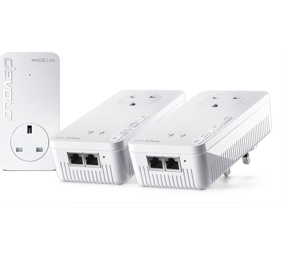 DEVOLO Magic 1 8369 WiFi Powerline Adapter Kit - Triple Pack