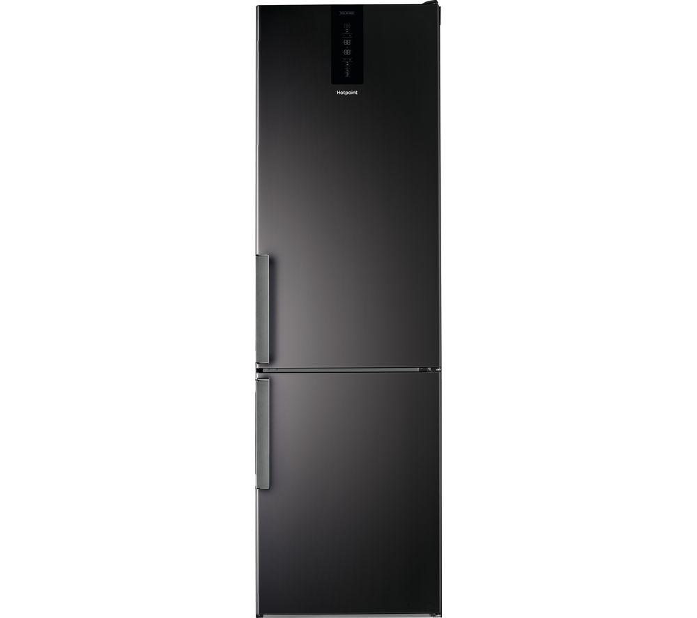 HOTPOINT Day1 H9T 921T KS H 70/30 Fridge Freezer - Black, Black