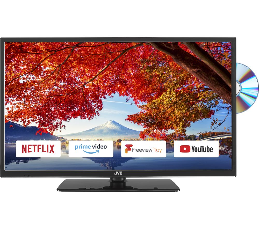 "Image of 24"" JVC LT-24C695 Smart HD Ready LED TV with Built-in DVD Player"
