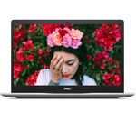£729.97, DELL Inspiron 15 7000 15.6inch Intel® Core™ i7 Laptop - 512 GB SSD, Silver, Achieve: Fast computing with the latest tech, Windows 10, Intel® Core™ i7-8565U Processor, RAM: 8GB / Storage: 512GB SSD, Graphics: NVIDIA GeForce MX250 2GB,