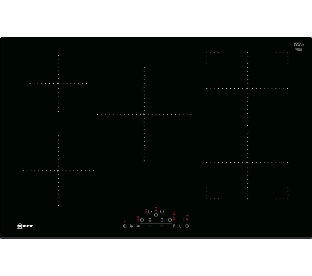 NEFF N70 T48FD23X2 Electric Induction Hob - Black