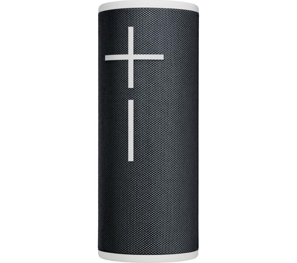 Image of ULTIMATE EARS BOOM 3 Portable Bluetooth Speaker - Black & White, Black