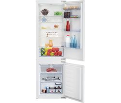BEKO BCSD173 Integrated 70/30 Fridge Freezer - Sliding Hinge Best Price, Cheapest Prices