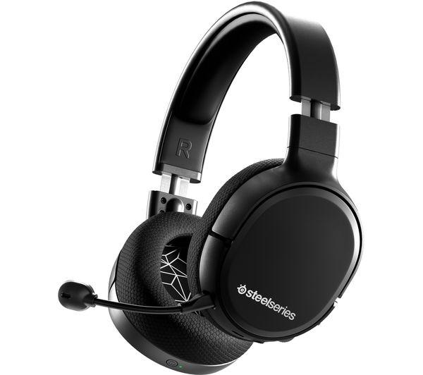 Image of STEELSERIES Arctis 1 Wireless 7.1 Gaming Headset - Black