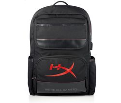 "HYPERX Raider 15.6"" Backpack - Black"