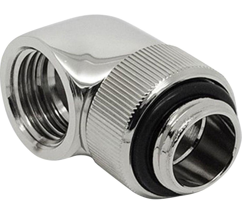 EK COOLING EK-AF Angled 90 Degrees Fitting Adapter - Silver