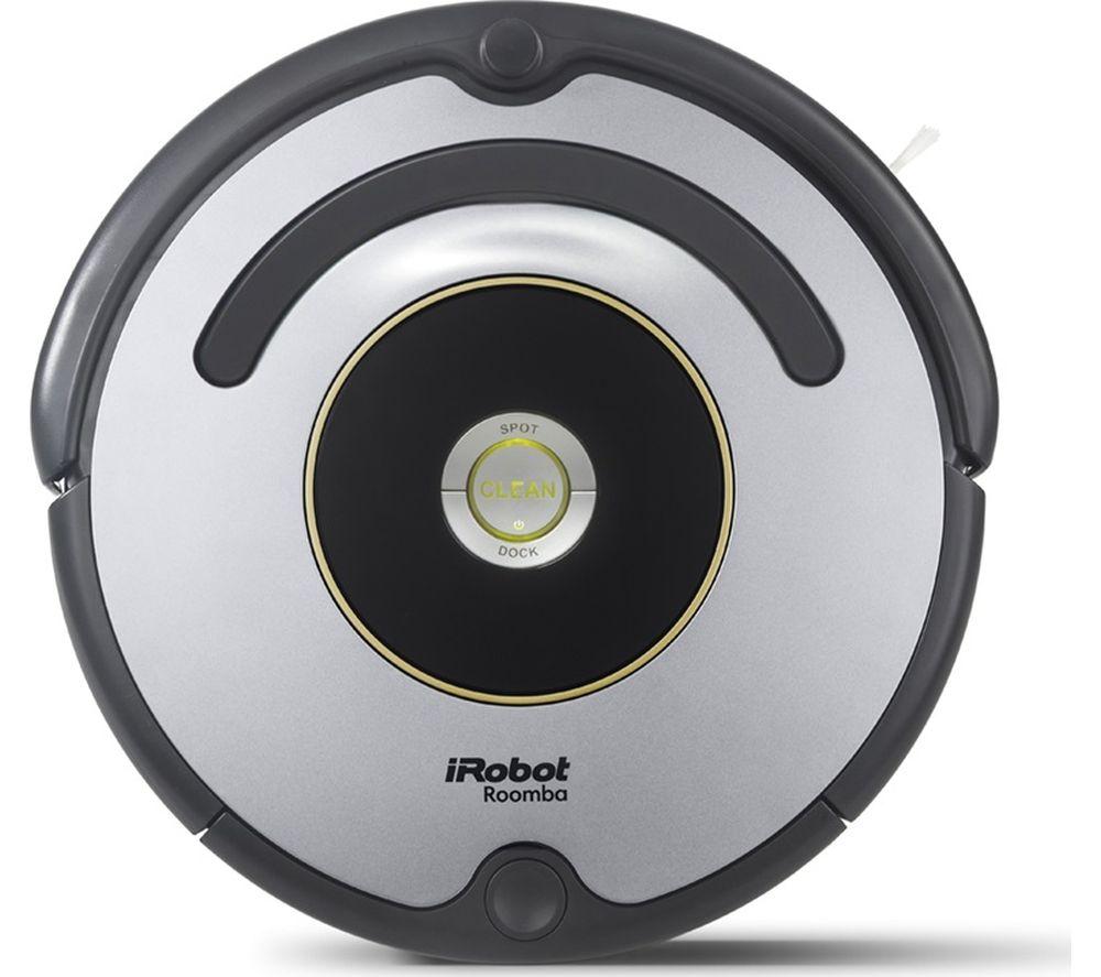 IROBOT Roomba 616 Robot Vacuum Cleaner - Black & Grey