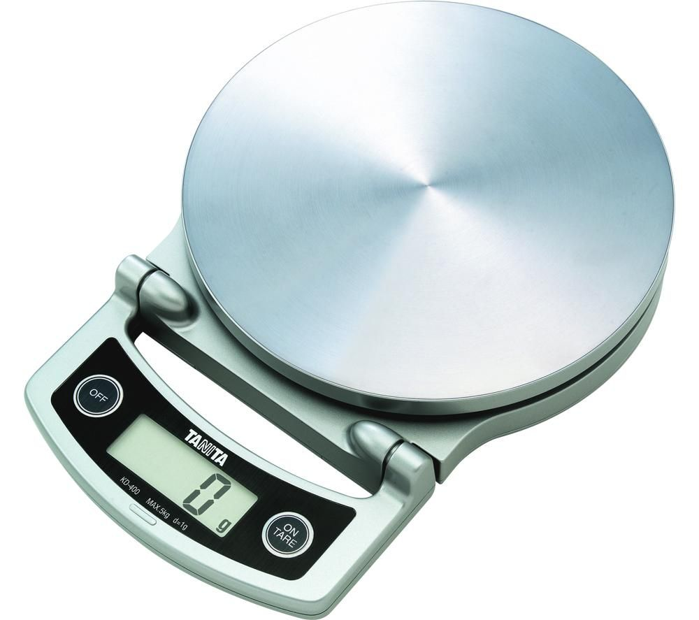 TANITA KD-400 Electronic Kitchen Scale - Silver