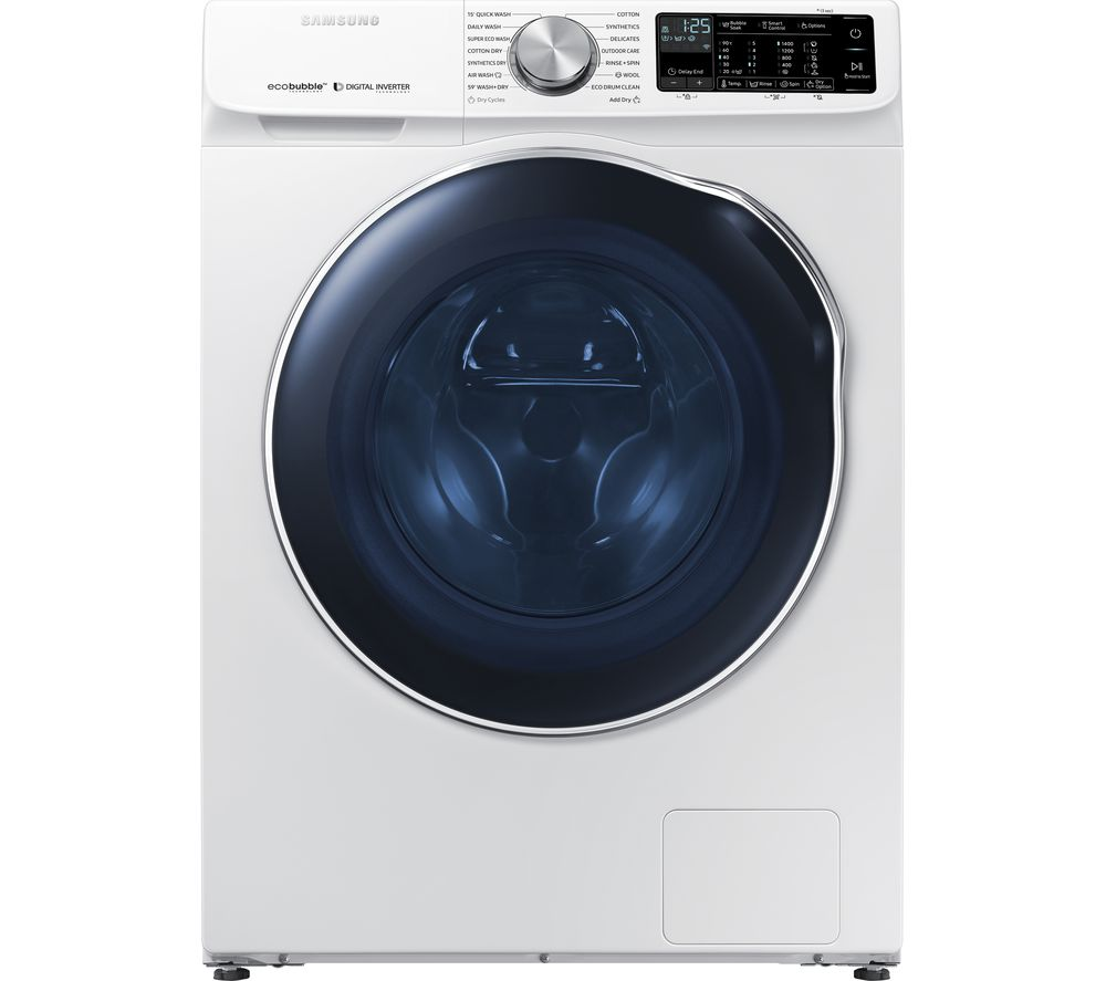 ecobubble WD10N645RAW WiFi-enabled 10 kg Washer Dryer - White