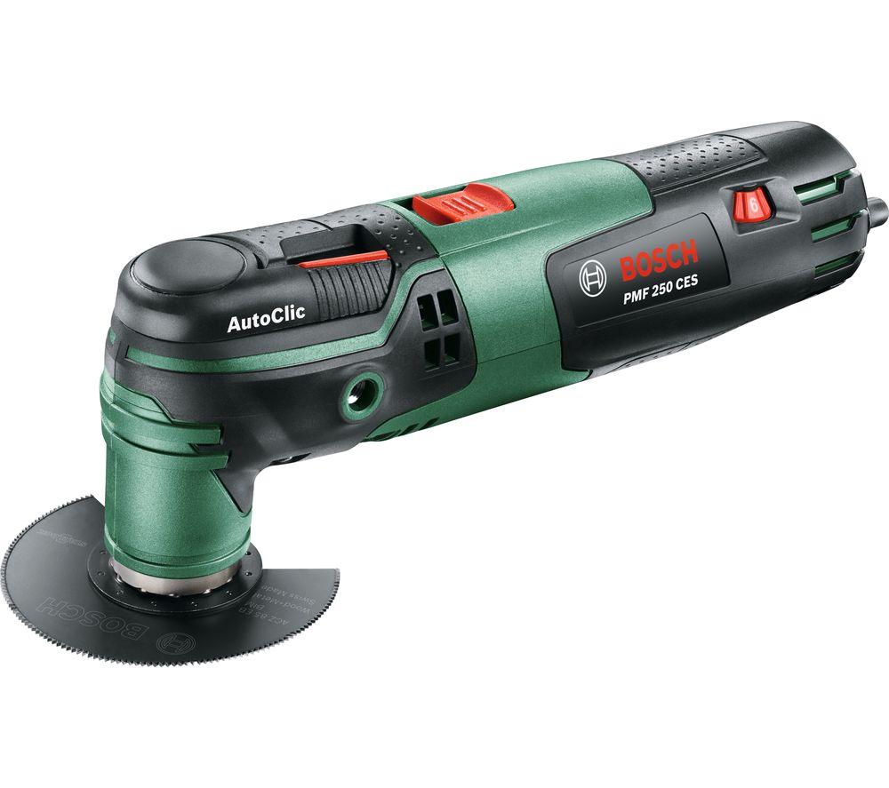 BOSCH PMF 250 CES Oscillating Multi Tool - Green & Black