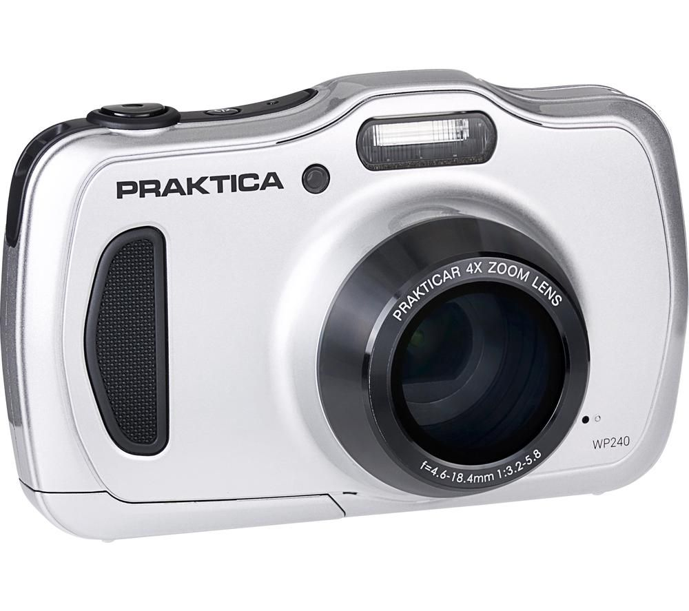 Click to view product details and reviews for Praktica Luxmedia Wp240 S Compact Camera Silver Silver.